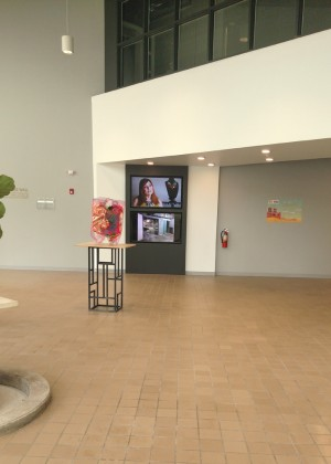 Mainframe Studios - lobby - video wall